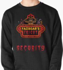 Five Nights at Freddy's - FNAF 3 - Fazbear's Fright Security Pullover