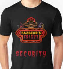 Five Nights at Freddy's - FNAF 3 - Fazbear's Fright Security T-Shirt