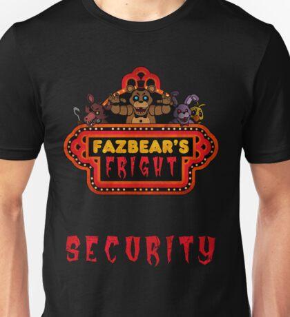 Five Nights at Freddy's - FNAF 3 - Fazbear's Fright Security Unisex T-Shirt