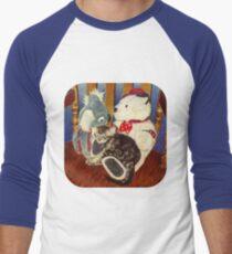 Rocking with Friends T-Shirt 0r Hoodie Men's Baseball ¾ T-Shirt