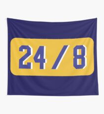 Legends Rip Kobe Never Dies Tribute Black Mamba Out 24 Forever Tapestry