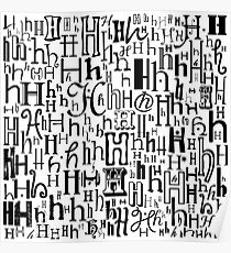 The Letter H Poster