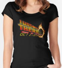Back to the future day variant Women's Fitted Scoop T-Shirt