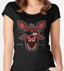 Five Nights at Freddy's - FNAF - Foxy - It's Me Women's Fitted Scoop T-Shirt