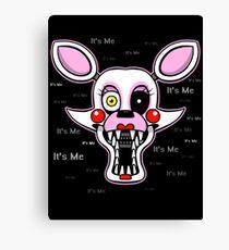Five Nights at Freddy's Freddy - FNAF 2 - Mangle - It's Me Canvas Print