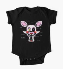 Five Nights at Freddy's Freddy - FNAF 2 - Mangle - It's Me Short Sleeve Baby One-Piece