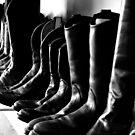 Black Boots  by Allison  Flores