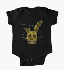 Five Nights at Freddy's - FNAF 3 - Springtrap - It's Me Short Sleeve Baby One-Piece
