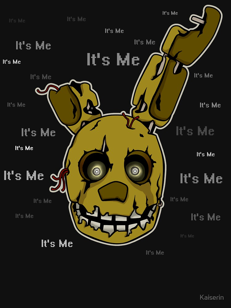 Five Nights at Freddy's - FNAF 3 - Springtrap - It's Me by Kaiserin
