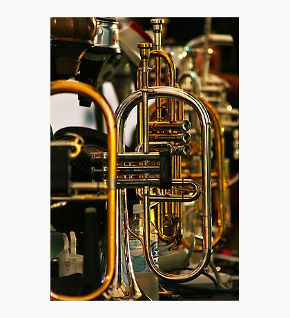 Trumpets Photographic Print