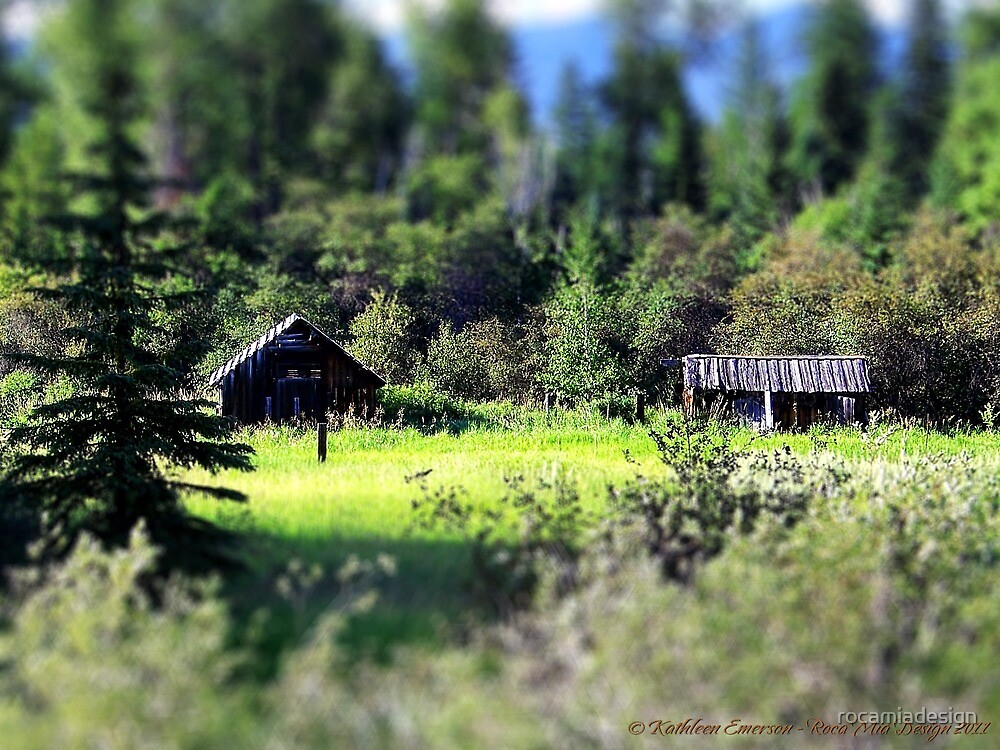 Whitefish Homestead (Montana, USA) by rocamiadesign