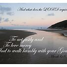 And what does the LORD require of you? by Catherine Davis