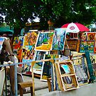 Art Market, Havana, Cuba by Sue Ratcliffe