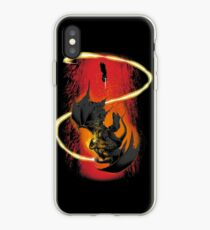 The Wizard & The Demon iPhone Case