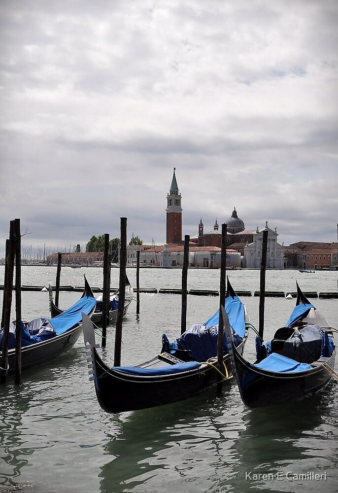 Gondolas by Karen E Camilleri