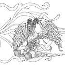 Fallen Feathers by redqueenself