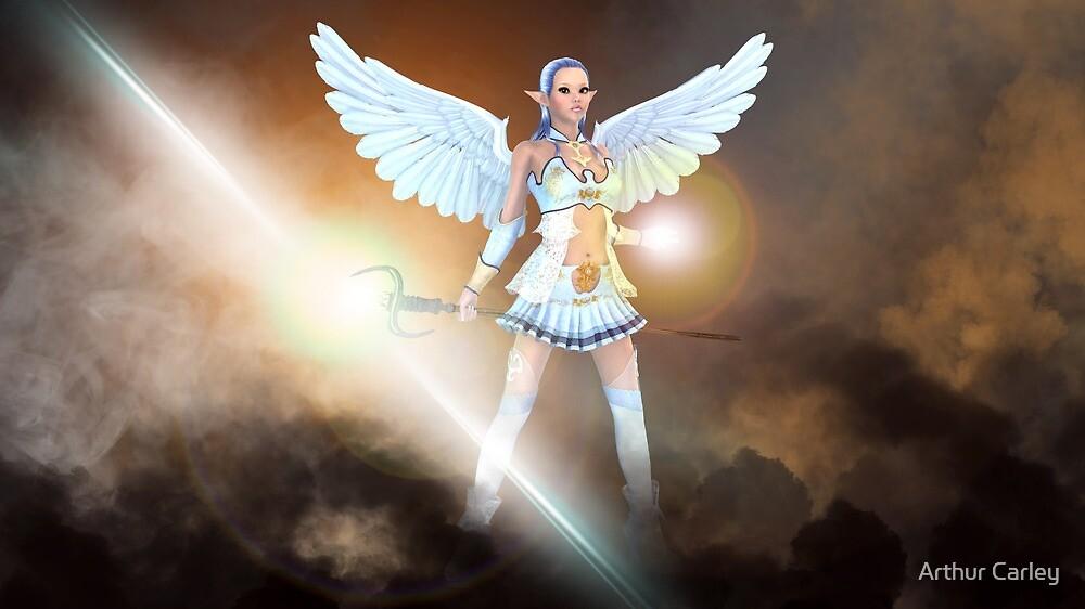 Elven Goddess of the Light by Arthur Carley