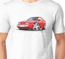 VW Corrado Red Unisex T-Shirt