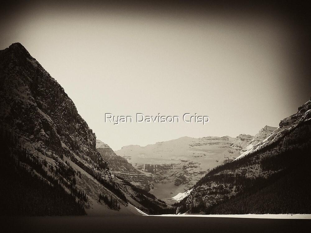 Wintertime at Lake Louise by Ryan Davison Crisp