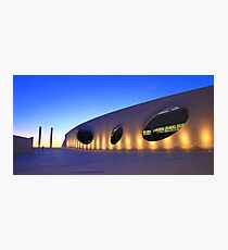 Champalimaud Centre for the Unknown . sunset Photographic Print