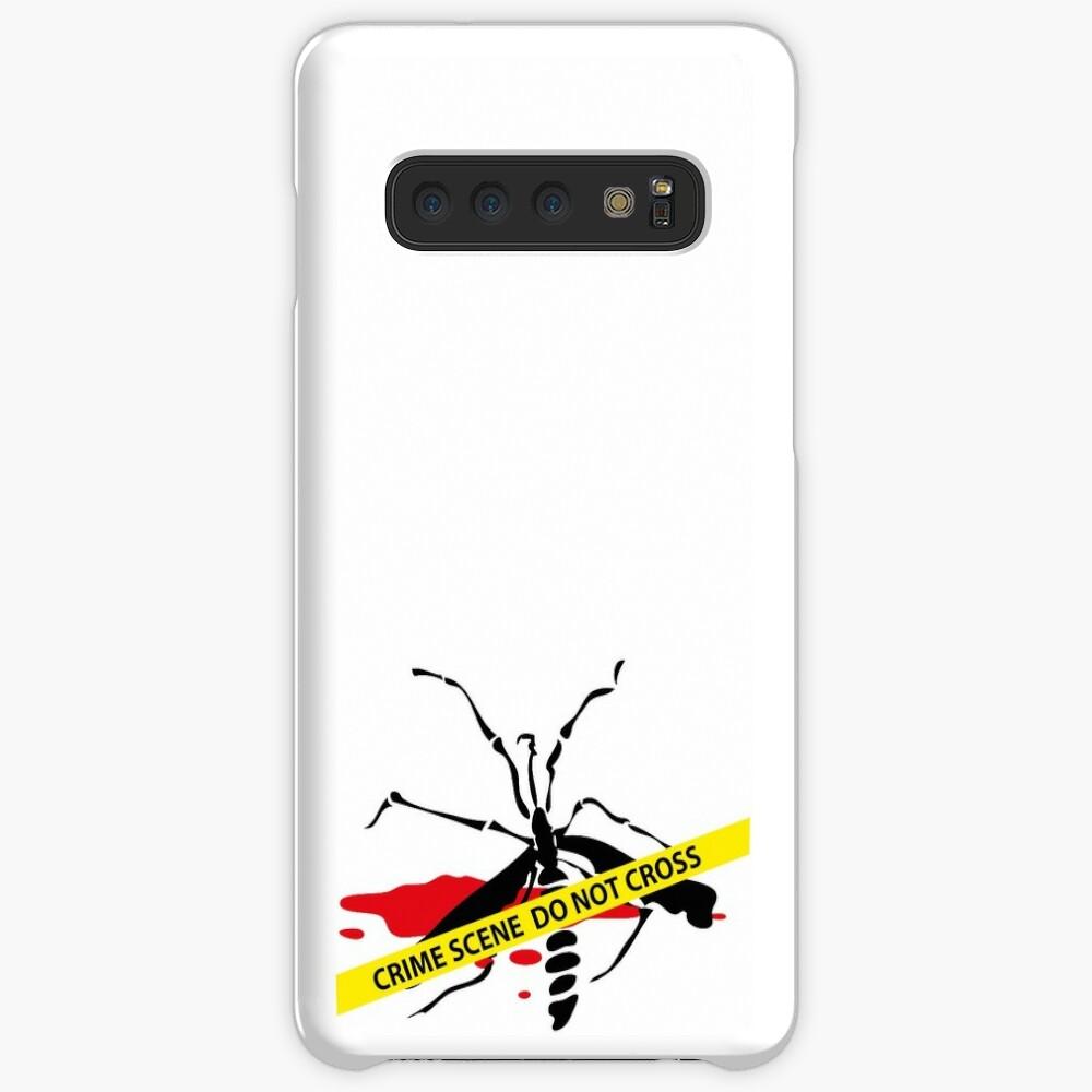 Crime scene mosquito Case & Skin for Samsung Galaxy