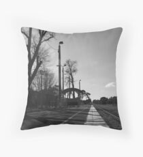 The line from Stoney Point Throw Pillow