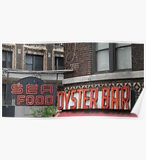 New York City Oyster Bar Poster