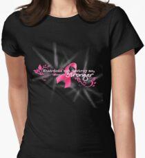 Breast Cancer Awareness Nietzsche Quote T-Shirt