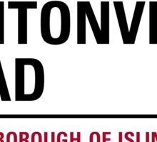 Petticoat Lane London Road Sign Sticker