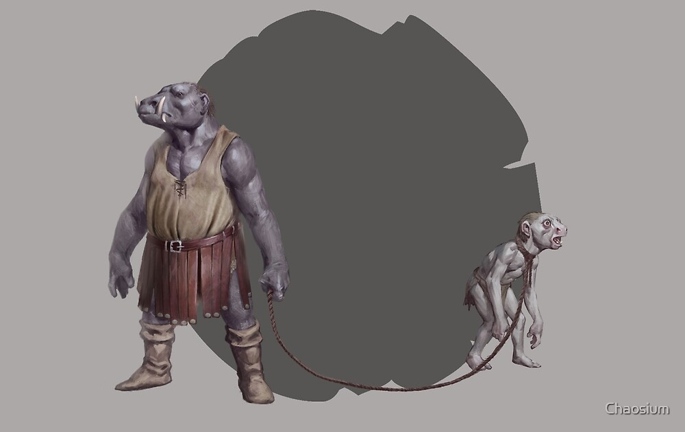 Troll and Trollkin by Cory Trego-Erdner by Chaosium
