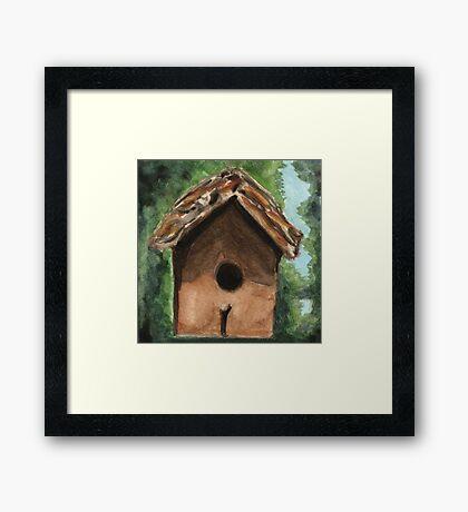 Tallac Birdhouse 3 Framed Print