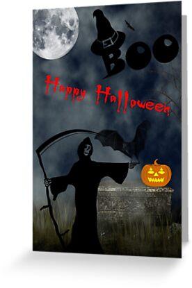 Happy Halloween by GothCardz