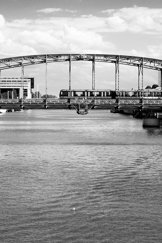 Crossing the bridge by Nayko