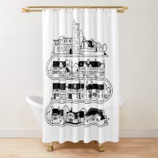 East Hagbourne! Shower Curtain