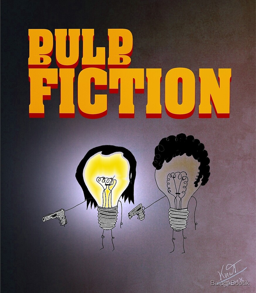 Bulbfiction by BalageBoutik