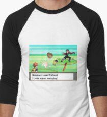 Vegan Fallacies Men's Baseball ¾ T-Shirt