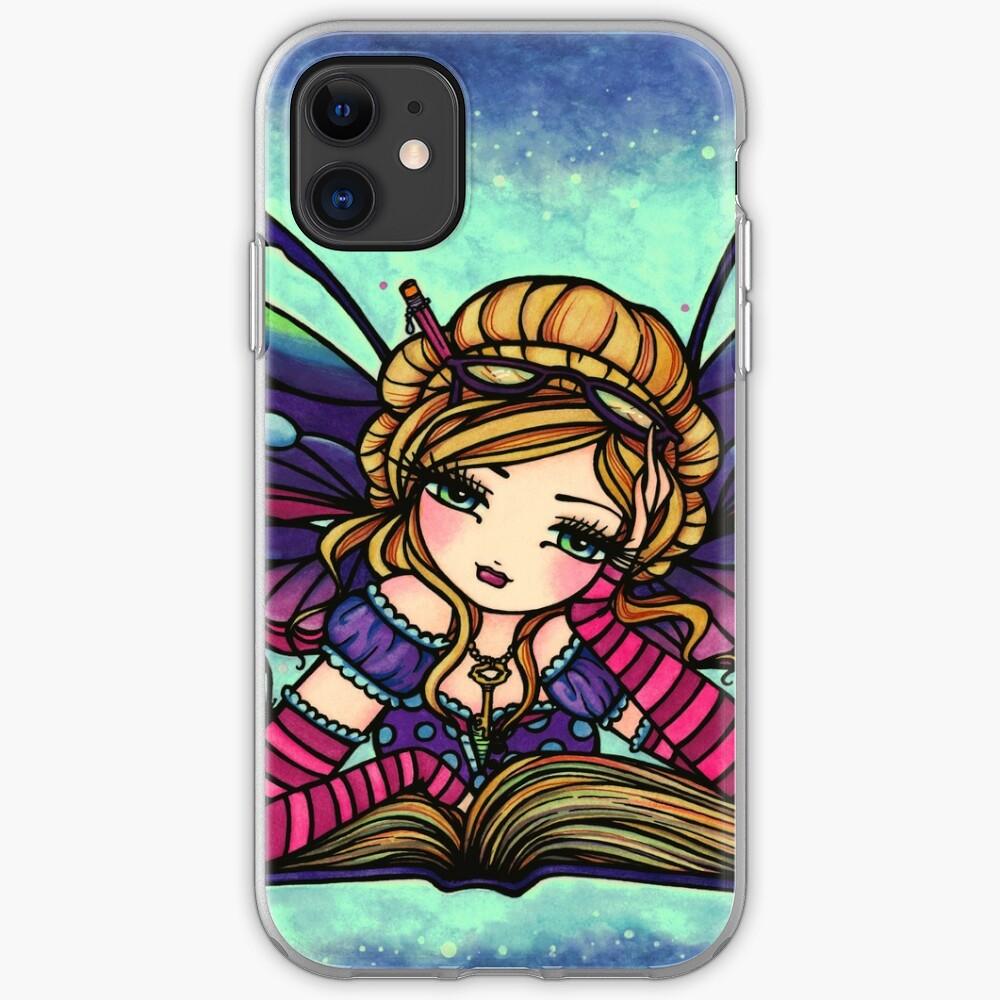 Bookworm Fairy by Hannah Lynn  iPhone Case & Cover