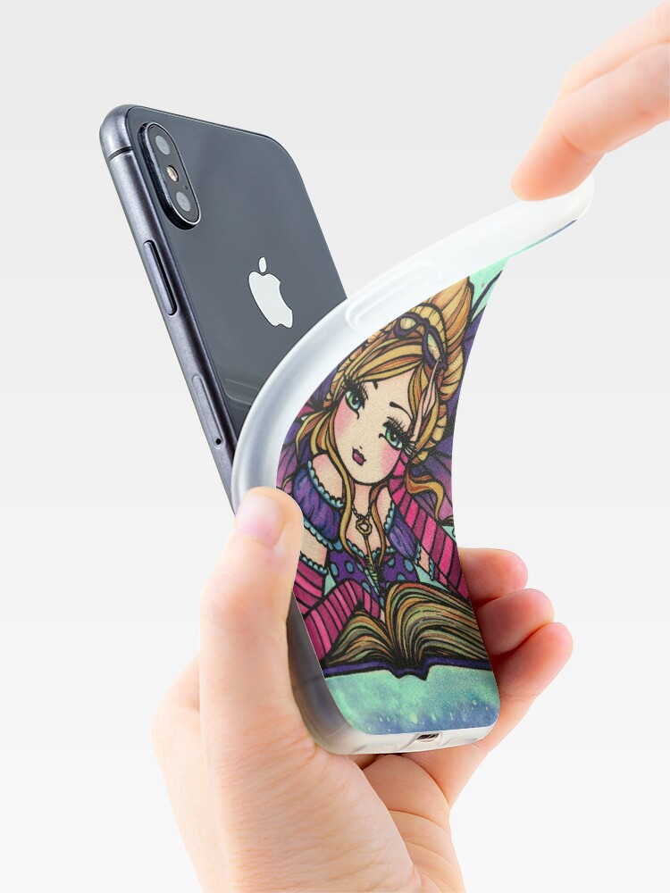Alternate view of Bookworm Fairy by Hannah Lynn  iPhone Case & Cover