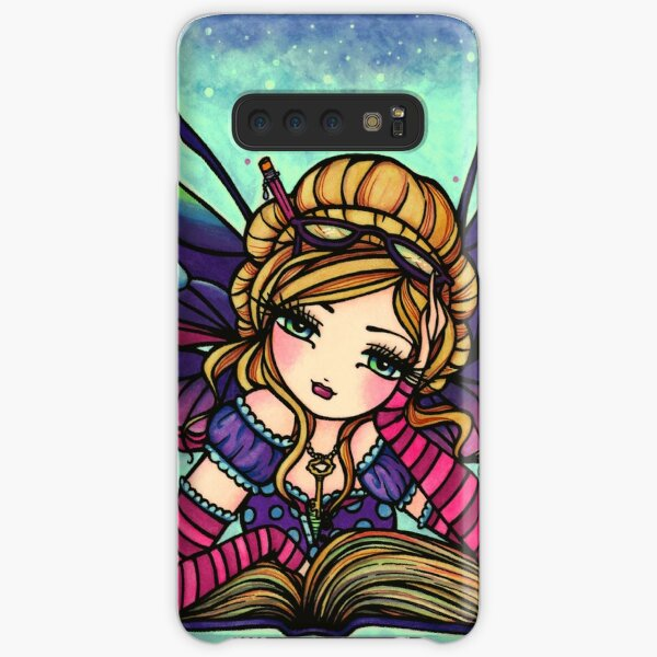 Bookworm Fairy by Hannah Lynn  Samsung Galaxy Snap Case