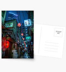 Tokyo Yokocho Postcards