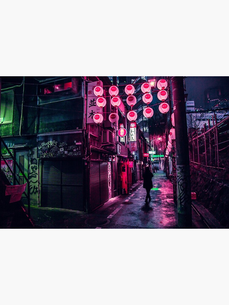 Shibuya Lanterns by noealz