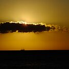 Sunrise silhouette by Themis