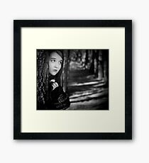 Who's afraid of the big bad wolf Framed Print