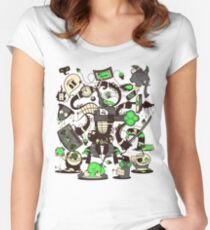Capers, Schemes, Plans, & Scams Women's Fitted Scoop T-Shirt