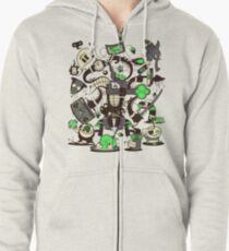 Capers, Schemes, Plans, & Scams Zipped Hoodie