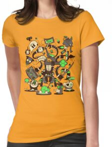 Capers, Schemes, Plans, & Scams Womens Fitted T-Shirt