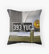 1937 Cadillac Throw Pillow