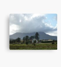 Cloud over Muckish Mountain Canvas Print