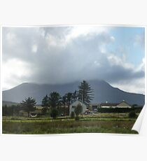 Cloud over Muckish Mountain Poster