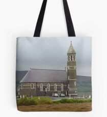 The Lone Church Tote Bag